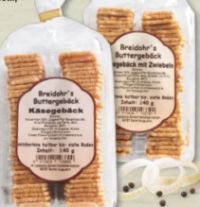 Käsegebäck von Breidohr's