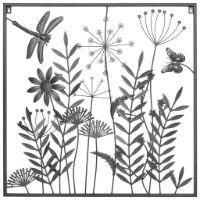 Wanddeko Blumen von Ambia