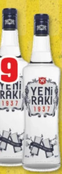 Raki von Yeni Raki