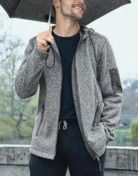Herren Strickfleece-Jacke von Tchibo