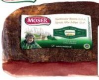 Südtiroler Speck von Moser Speckworld