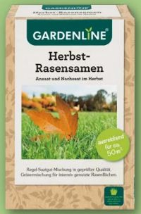 Herbst-Rasensamen von Gardenline