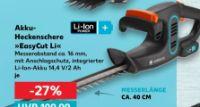Akku-Heckenschere Easy Cut LI von Gardena