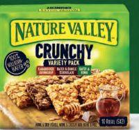Crunchy Müsliriegel von Nature Valley