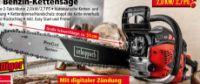 Hydraulik-Holzspalter + Benzin-Kettensäge von Scheppach