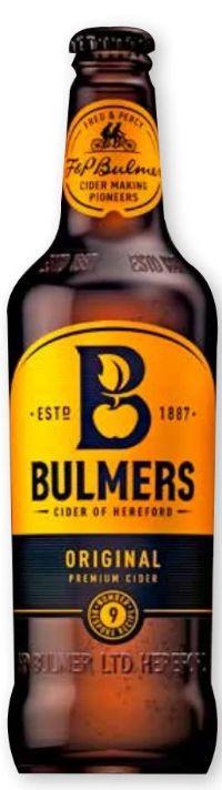 Cider von Bulmers