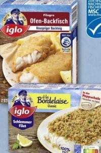Filegro-Ofen-Backfisch von Iglo
