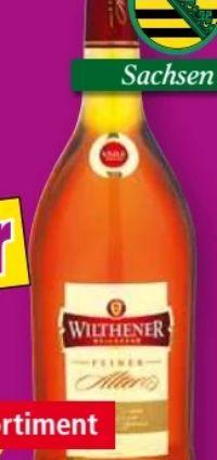 Weinbrand Feiner Alter von Wilthener