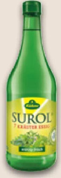 Surol 7-Kräuter-Essig von Kühne