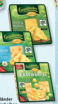 Käsescheiben von Grünländer