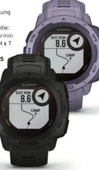 Instinct Solar Solar-Smartwatch von Garmin