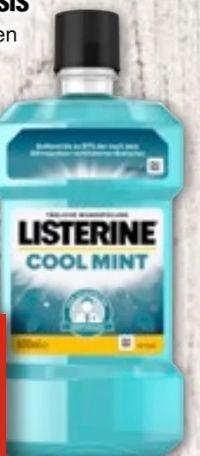 Mundspülung Basis von Listerine