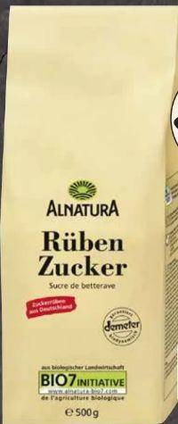 Bio Rüben Zucker von Alnatura