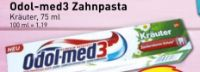 Zahnpasta von Odol-Med 3