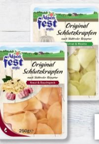 Original Schlutzkrapfen von Alpenfest