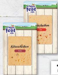 Käsescheiben von Alpenfest