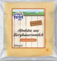 Allgäuer Käse-Sortiment von Alpenfest