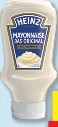 Mayonnaise von Heinz