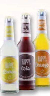Bio-Limonade von Happy