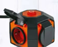Powerglobe Design-Mehrfachsteckdose