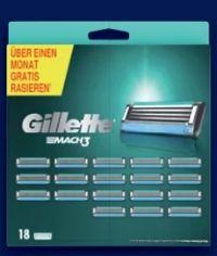 Mach3 Rasierklingen von Gillette