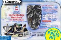 Miesmuscheln von Föhrer Muscheln