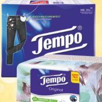 Papier-Taschentücher von Tempo