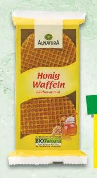 Bio Honigwaffeln von Alnatura