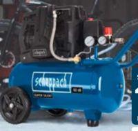 Doppelzylinder-Kompressor HC25Si von Scheppach
