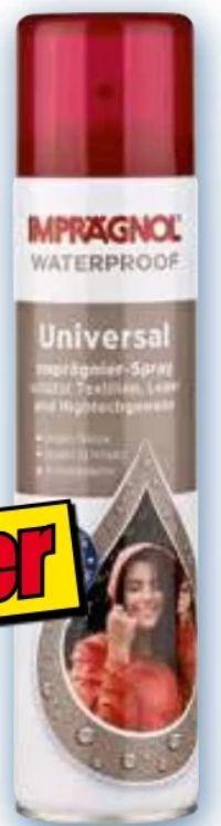 Universal Imprägnierspray von Imprägnol