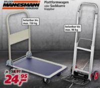 Plattformwagen von Brüder Mannesmann Werkzeuge