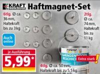 Haftmagnete-Set von Kraft Werkzeuge