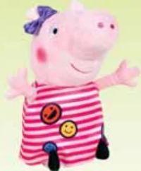Plüschfigur von Peppa Pig