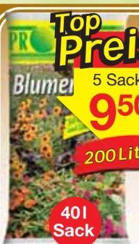 Blumenerde von Profigreen