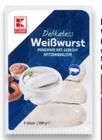 Weißwurst von K-Classic
