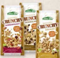 Bio-Amaranth Crunchy-Müsli von Allos