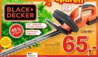 Akku-Heckenschere von Black & Decker
