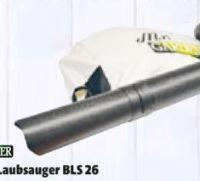 Benzin-Laubsauger BLS 26 von Mr. Gardener