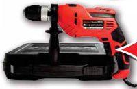 Schlagbohrmaschine BM720 von Carrera Tools
