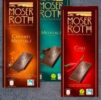 Schokolade von Moser Roth