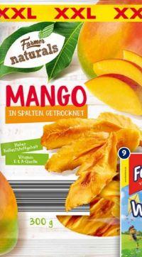 Getrocknete Mangostücke von Farmer naturals
