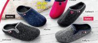 Damen Winter-Hausschuhe von Wörishofer Fußbett