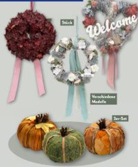 Herbstdekoration von Living Art