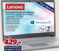 Notebook V15-ADA 82C7007SGE von Lenovo