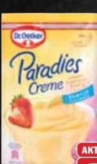Puddingpulver von Dr. Oetker