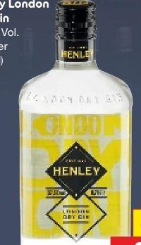 London Dry Gin von Henley