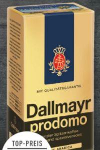 Prodomo Kaffee von Dallmayr