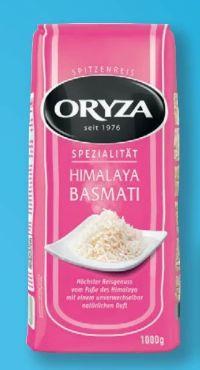 Himalaya Basmati Reis von Oryza