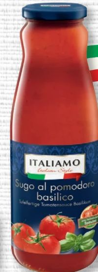 Tomatensauce mit Basilikum von Italiamo