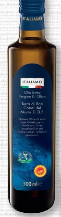 Natives Olivenöl extra Vergine von Italiamo